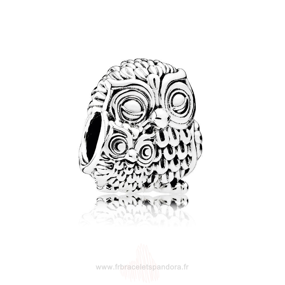 Grossiste Pandora Pandora Animaux Charms Charming Owls Charm Entier