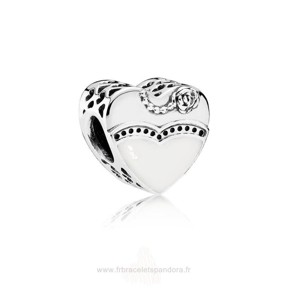 Grossiste Pandora Mariage Anniversaires Notre Special Day Noir Blanc Email Entier