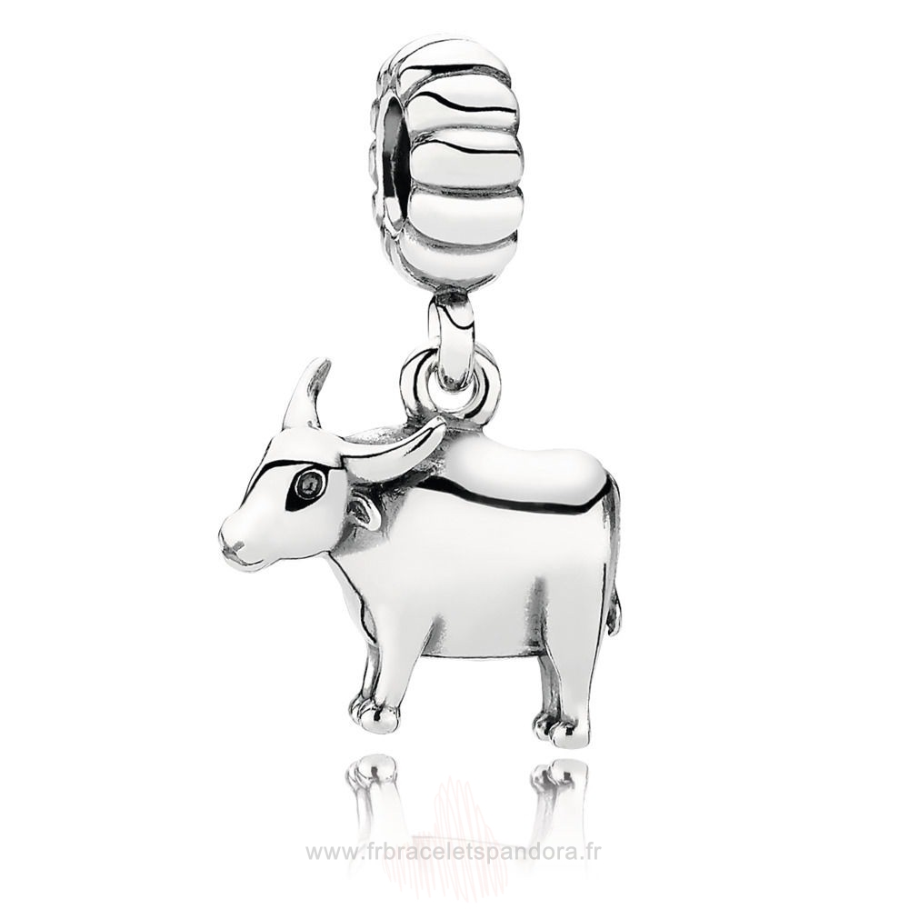Grossiste Pandora Chinese Zodiac Ox Pendant Charm Entier