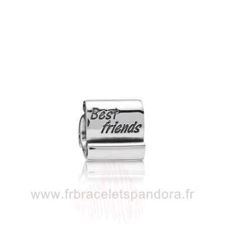 Grossiste Pandora Amis Charms Meilleur Amis Scroll Charme Entier