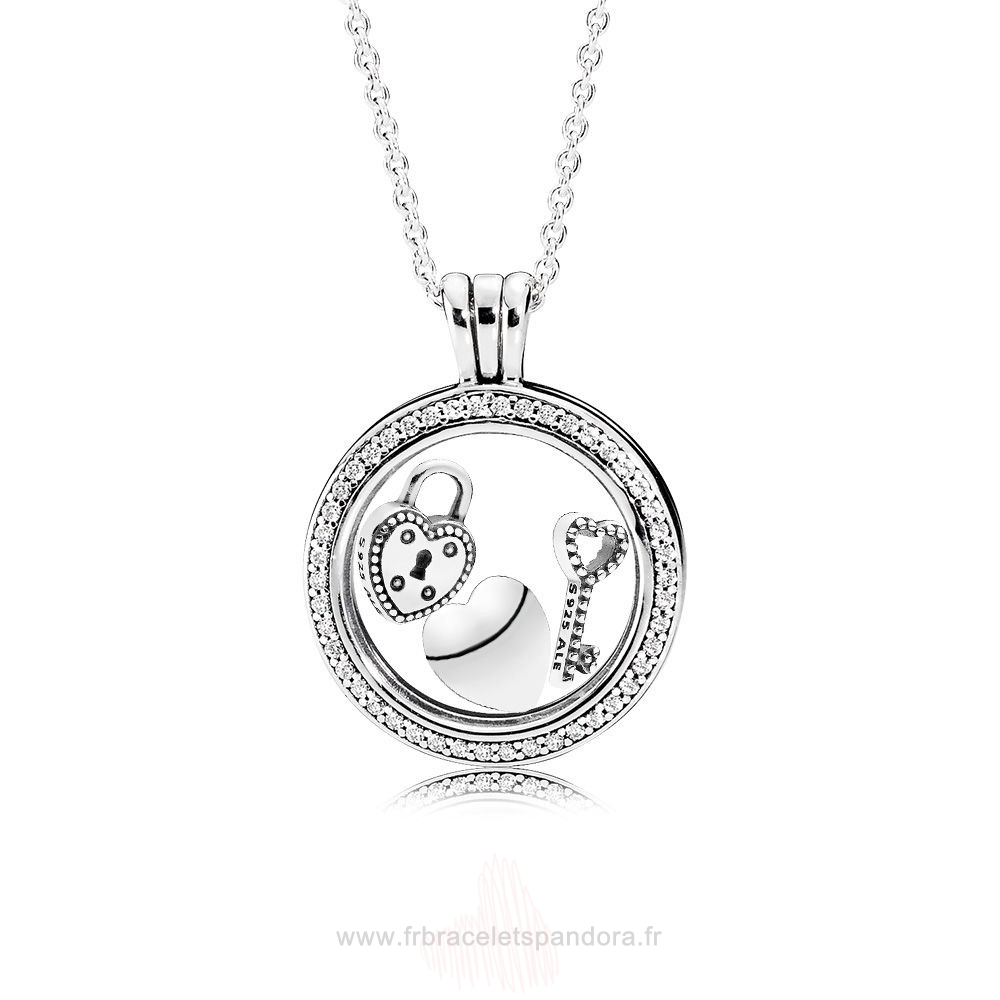 Grossiste Pandora Sparkling Love Locket Gift Set Entier