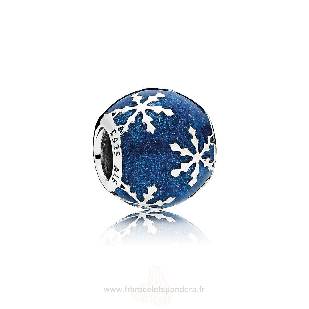 Grossiste Pandora Nature Charms Charme Delice Midnight Blue Enamel Entier