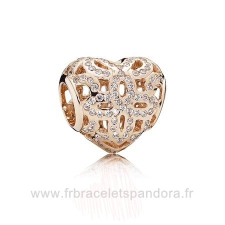 Grossiste Pandora Amour Appreciation Charme Pandora Rose Clear Cz Entier