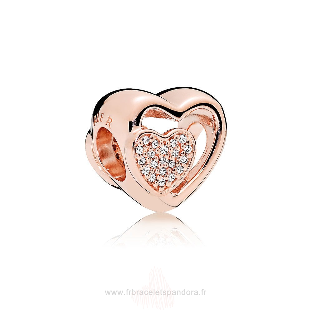 Grossiste Pandora Pandora Join Ensemble Charme Rose Clear Cz Entier